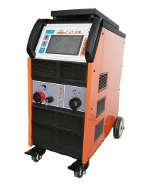 Touchscreen stud welding machine